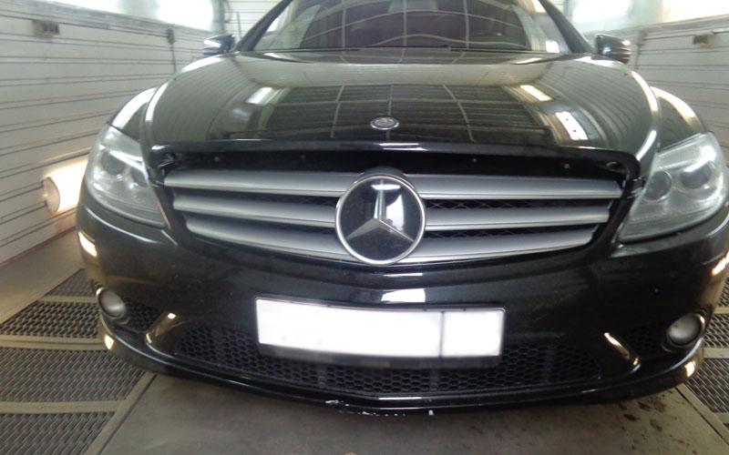 Ремонт кузова Mercedes CL500