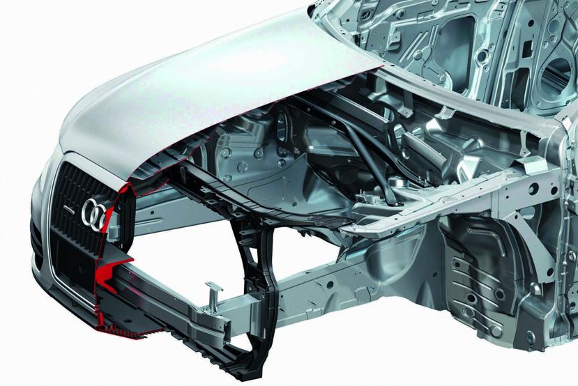 Произведен ремонт Audi A8. Что нужно знать об алюминиевых кузовах автомобилей?. Центр Кузовного Ремонта. Нижний Новгород.